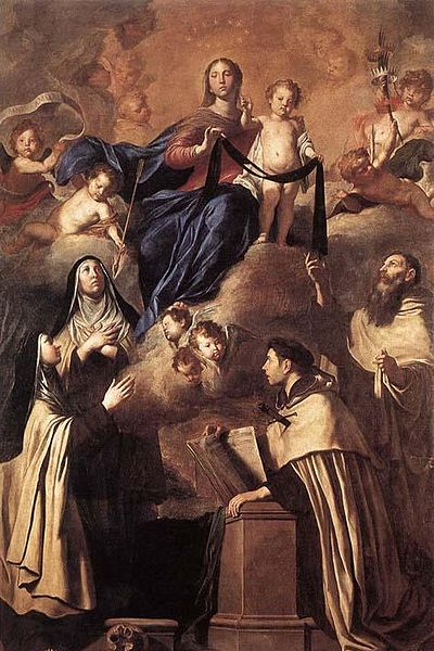 Our Lady of Mount Carmel and Saints