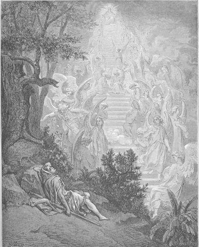 Jacob's Dream (Gen. 28:10-15) Doré's English Bible