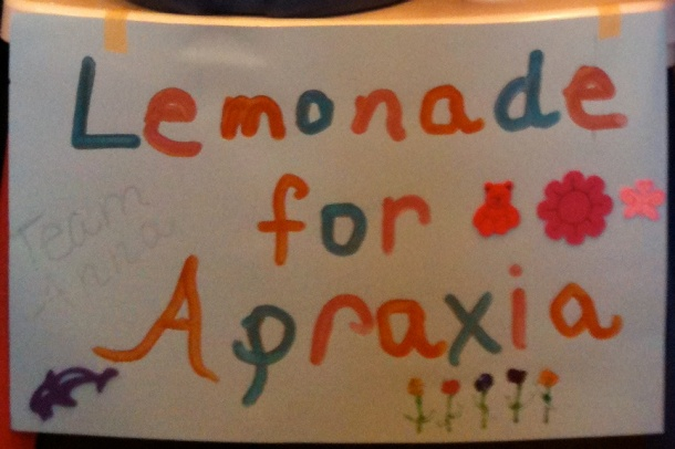 Lemonade for Apraxia