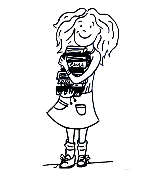 Line Drawing Little Girl : Empowering chapter books for young girls david ozab