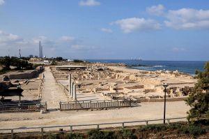 Caesarea Maritima national park.