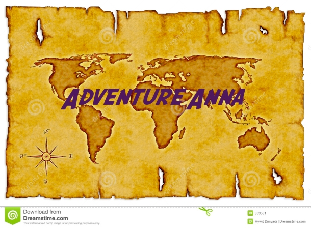 Adventure Anna world map.
