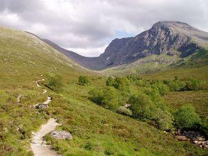Ben Nevis in the Scottish Highlands