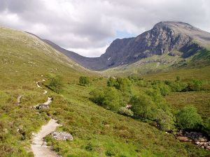 Ben Nevis in the Scottish Highlands