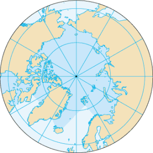 Location of the Geographic North Pole