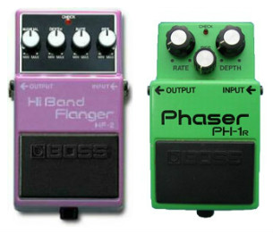 Flanger and Phaser